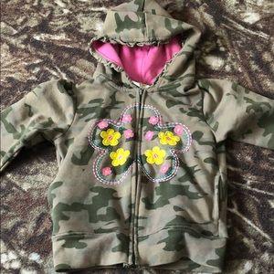 Other - Girls full zip hoodie
